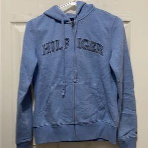 Tommy hilfiger woman hoodie size s/p color blue